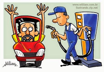 Resultado de imagem para temer e o aumento da gasolina em charge