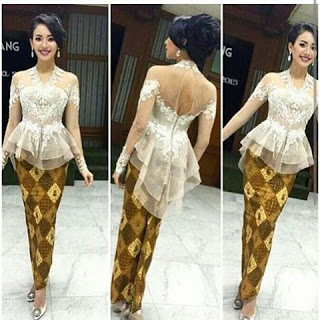baju kebaya modern batik