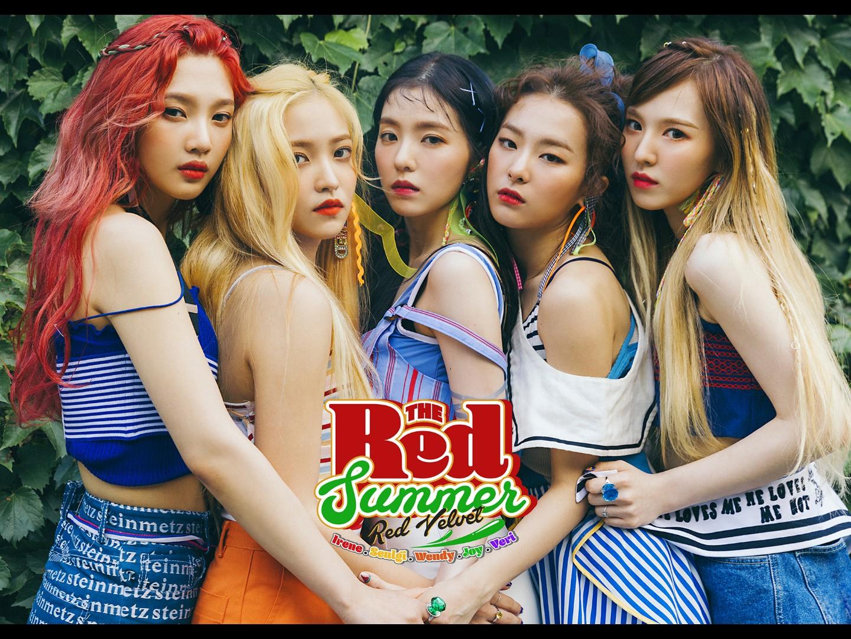 Full Hq Red Velvet Members Teaser Images And Tracklist Of Red
