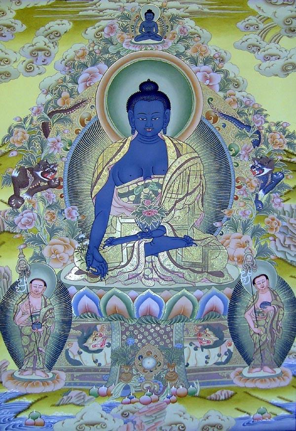 異鄉人尋真筆記: Medicine Buddha Mantra 藥師佛心咒