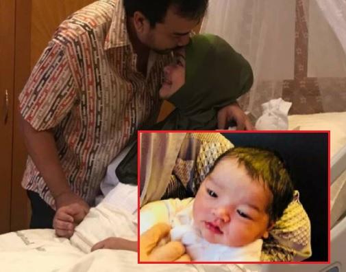 Gambar Rasmi Anak Perempuan Siti Nurhaliza Dan Datuk K Tersebar