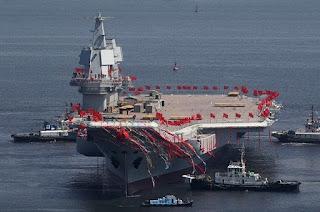 Peluncuran Kapal Induk baru Type 001A China