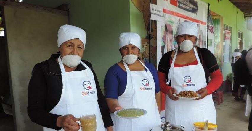 Qali Warma presenta más de cincuenta recetas nutritivas para escolares - www.qaliwarma.gob.pe