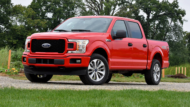 2018 All new Ford F-150 more comfortable front side view