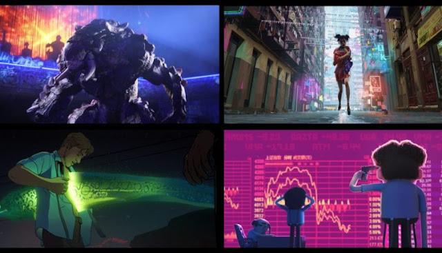 love death robots David Fincher