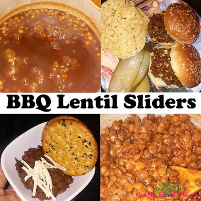 bbq lentil sliders
