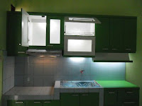 furniture interior semarang - kitchen set minibar 05