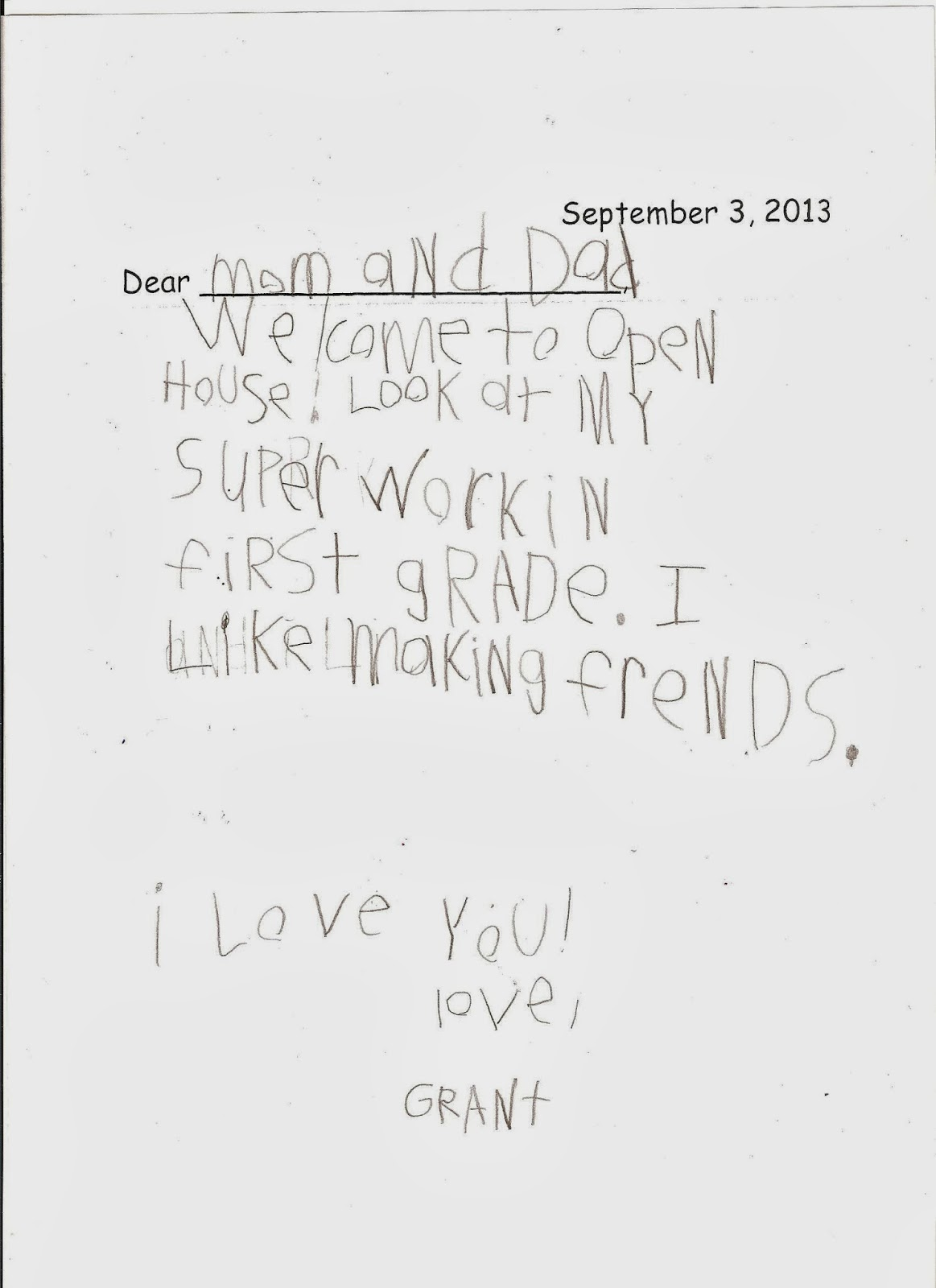 The Shupeville Zoo: Letters from Grant