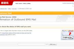 Cara Mengecek Kiriman EMS dari Luar Negeri (Jepang ke Indonesia)