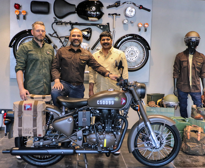 Royal Enfield Classic 500 Pegasus Motorcycle Launched In India