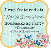 I was Featured on Homemaking Party!