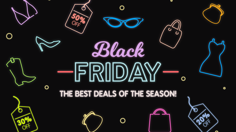 Online clothing stores black friday sales
