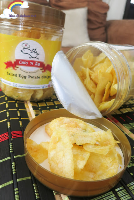 Chips 'n Tub Salted Egg Potato Chips