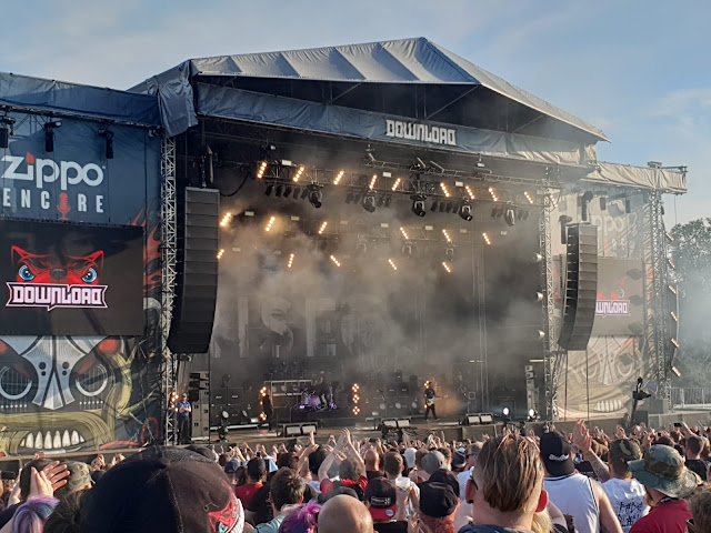 Rise Against at Download UK 2018