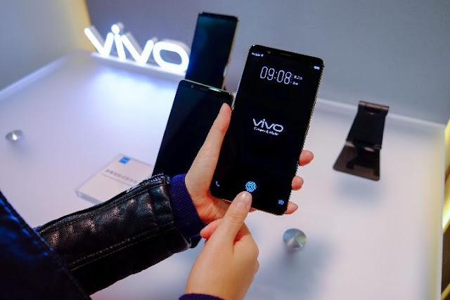 Vivo X20 Plus UD Bawa Fitur Fingerprint di Layar