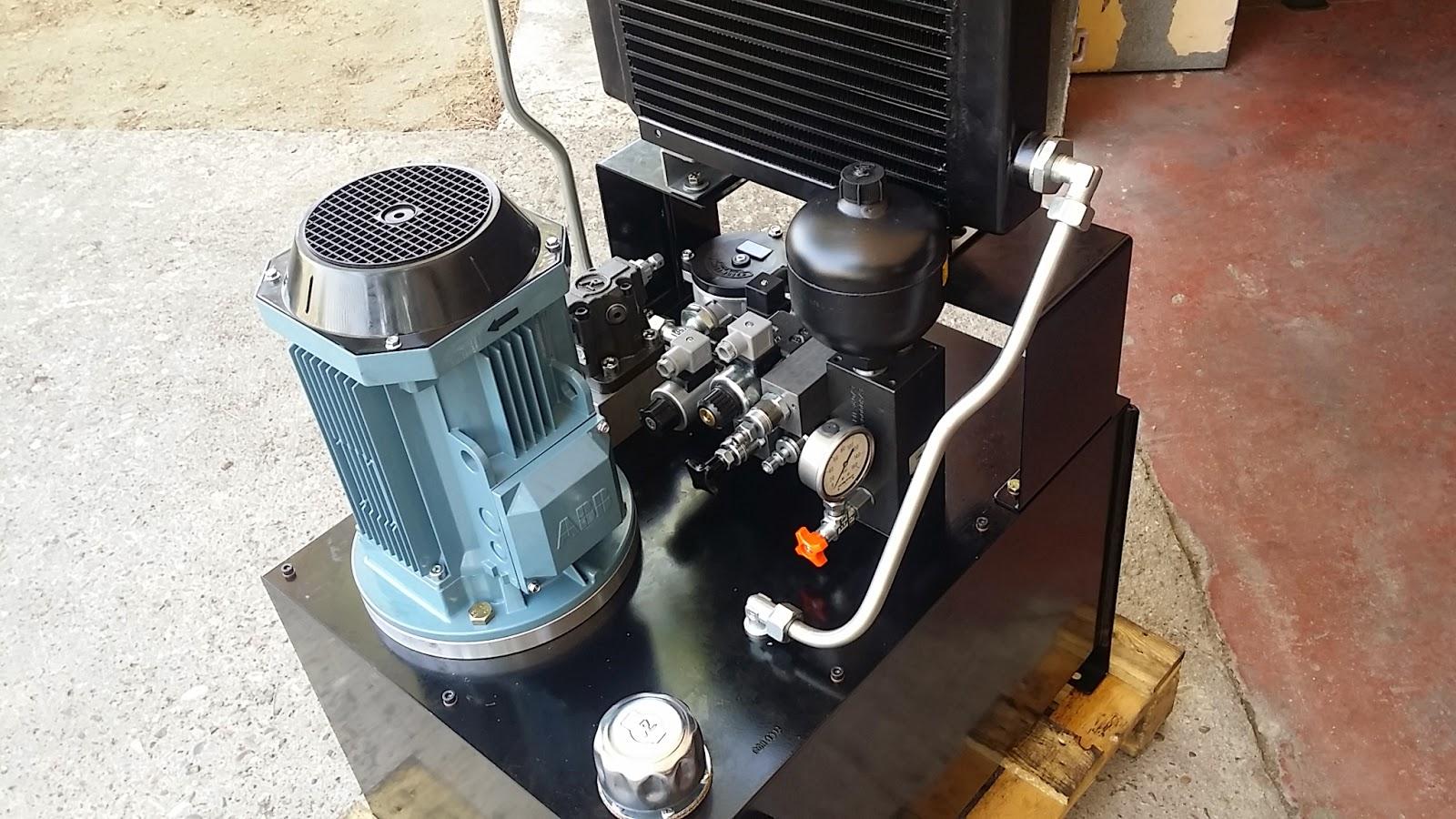 Central hidráulica acumulador bloque manifold