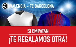 sportium promocion Valencia vs Barcelona 26 noviembre