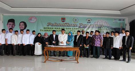 Pelantikan Pengurus Lembaga Pengembangan Tilawatil Qur'an (LPTQ) Kabupaten Musi Rawas
