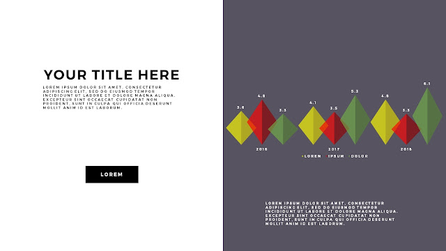 Free Infographic PowerPoint Template with Editable Data chart Slide 7