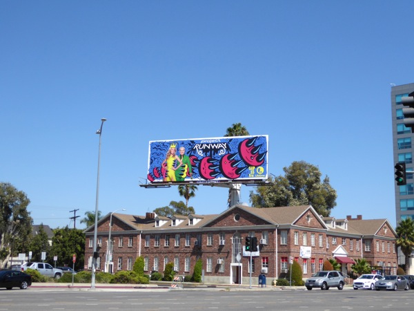 Project Runway season 15 billboard