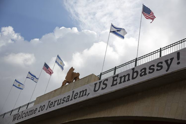 U.S. Embassy Opens in Jerusalem, Massive Clashes On Gaza Border