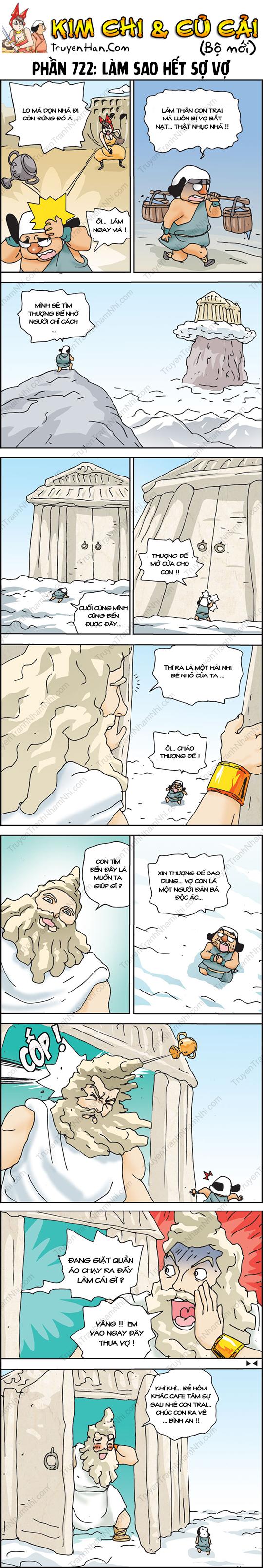 Kim Chi Và Củ Cải Phần 722: Làm sao hết sợ vợ?
