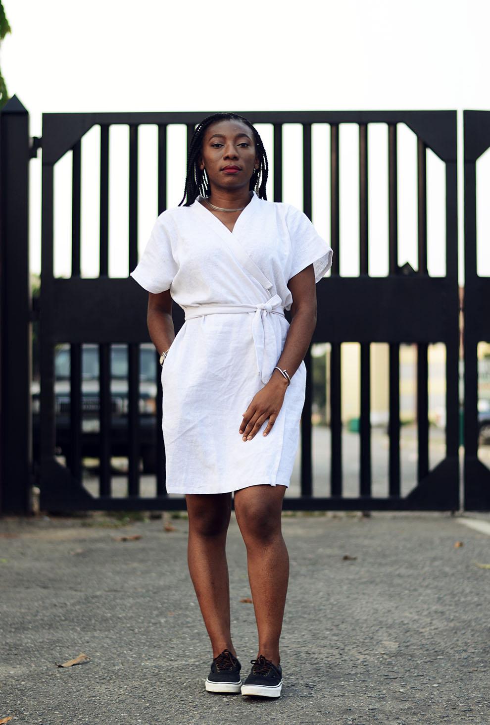 SNF_White_Kimono_Wrap_Dress_Style