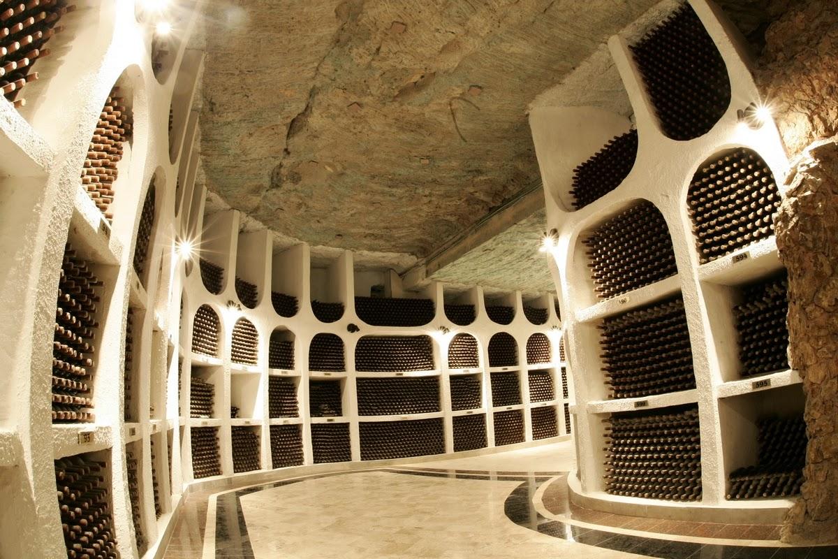 Beautiful Eastern Europe Cricova Largest Wine Cellar In