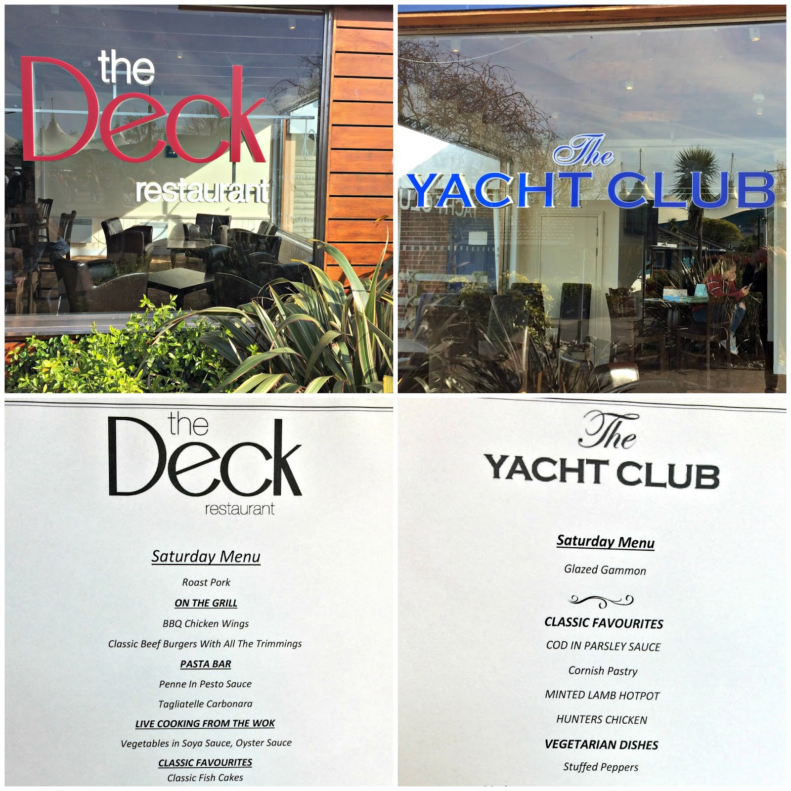 The Yacht & The Deck Premium Dining Restaurants at Butlins Minehead