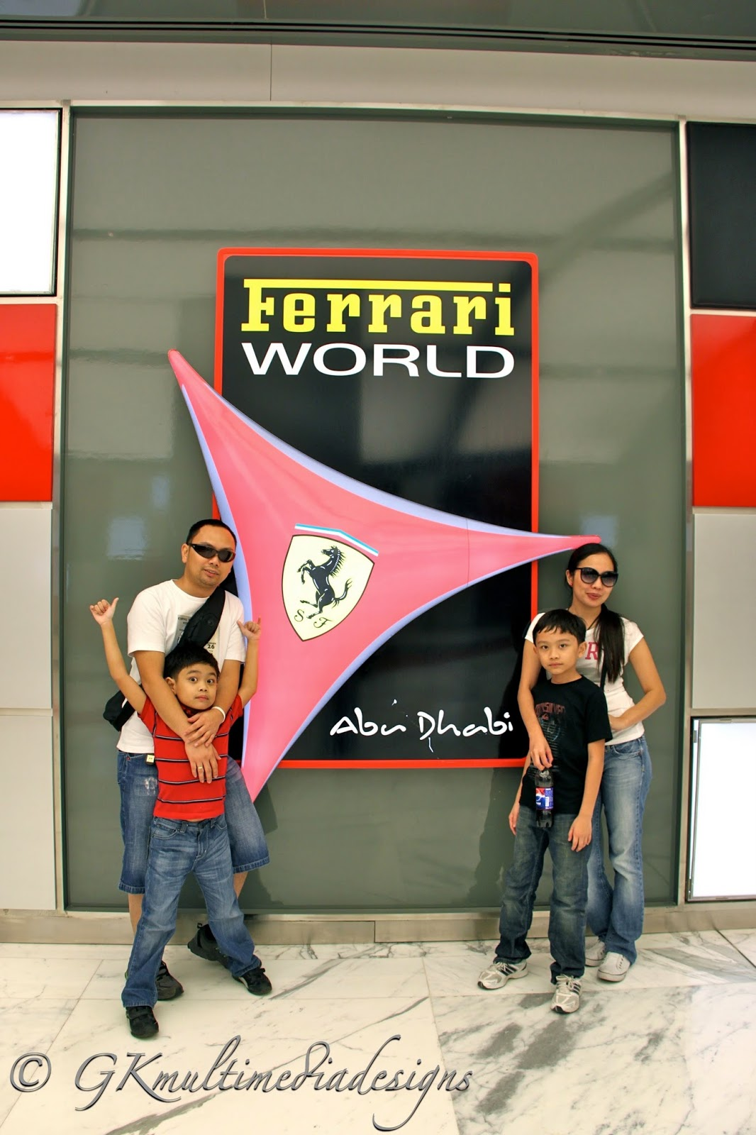 anything under the sun ferrari world abu dhabi uae. Black Bedroom Furniture Sets. Home Design Ideas