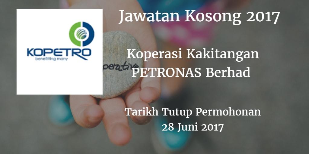 Jawatan Kosong KOPETRO 28 Juni 2017