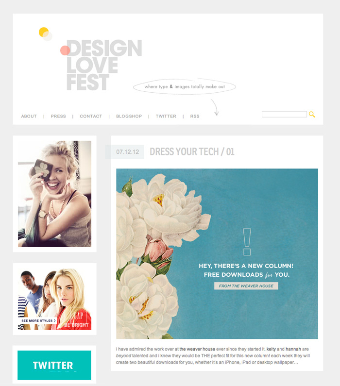 design love fest dress your tech