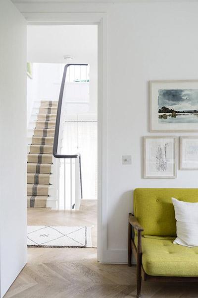 décoration pallier escalier design