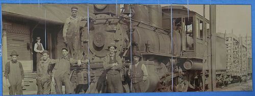 Manton Michigan Railroad Picture