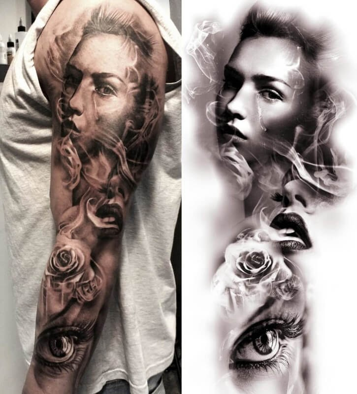 06-Glen-Preece-Paintings-and-tattoos-Side-by-Side-www-designstack-co