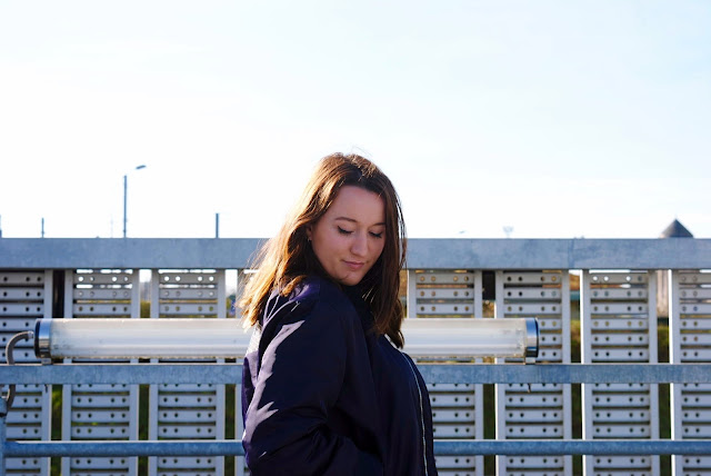 Blogueuse metz streetstyle bomber vintage