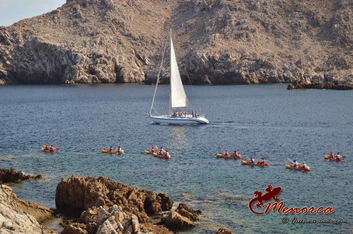 Kayak Fornells Menorca