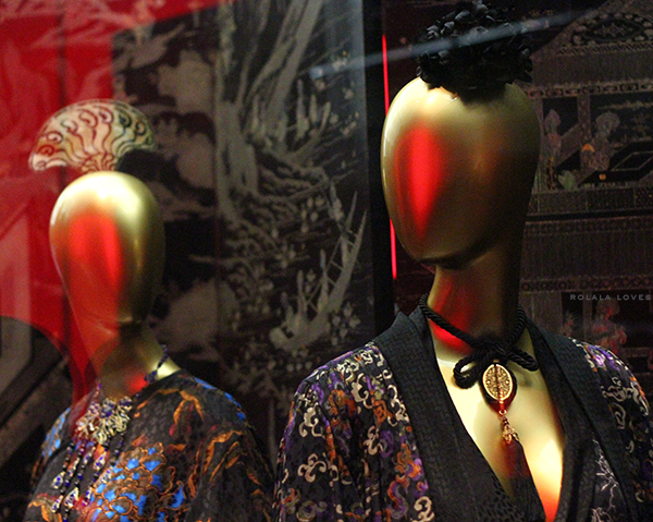 Yves Saint Laurent at China Through The Looking Glass