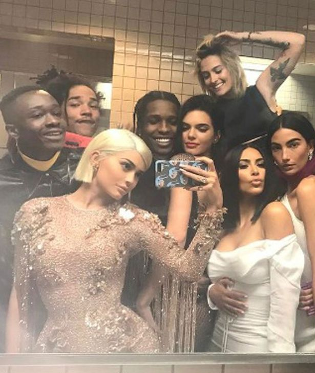 The Met Gala's EPIC bathroom selfie explained from Kylie Jenner's product placement 1