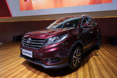 Harga jual DFSK Glory 580 lebih murah dari Honda CRV