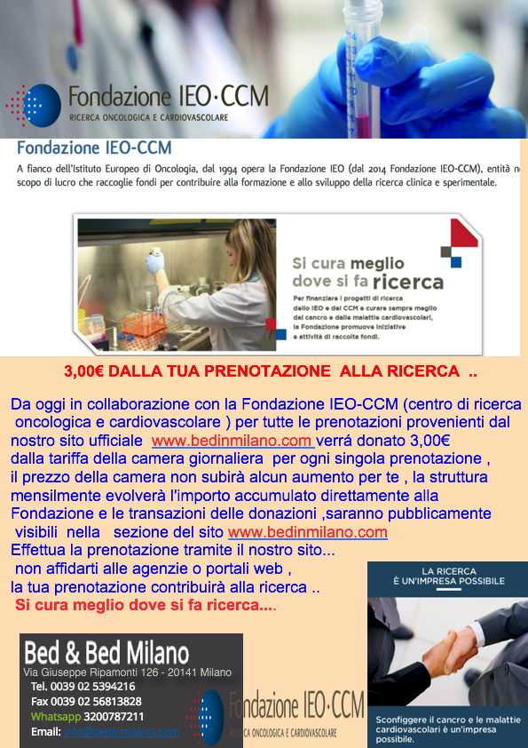 Hotel Vicino Ieo Milano