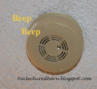 Eclectic Red Barn: Testing your smoke alarm