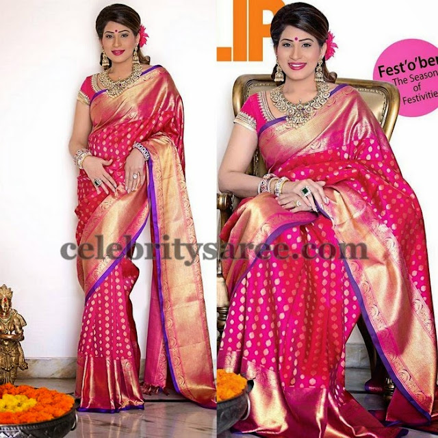 Heavy Border Wedding Silk Sarees