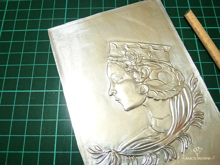 Que debo de saber para empezar a repujar rostros en aluminio