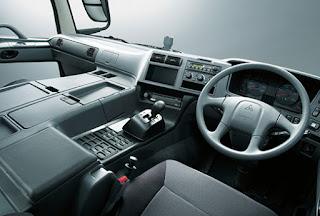 Interior Mitsubishi Fuso