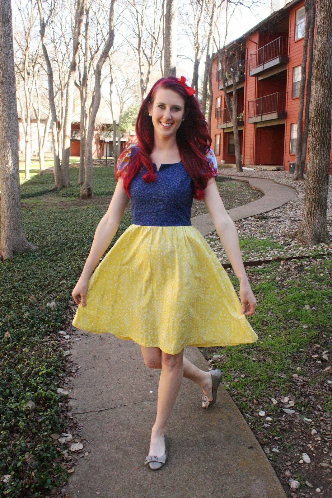 Marie, Marie: Disney Princess Dress Project - Snow White - photo#23