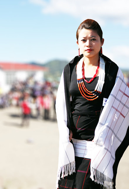 Lotha Women Traditional Dress Tokhu Emong