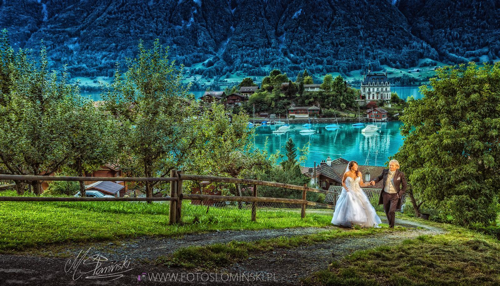 Jakie miejsca na sesje ślubną wybrać ? Fotografia ślubna fotoslominski_pl
