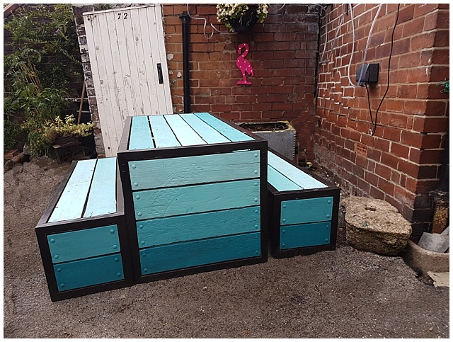 House Update: How I transformed our garden furniture with tester ...