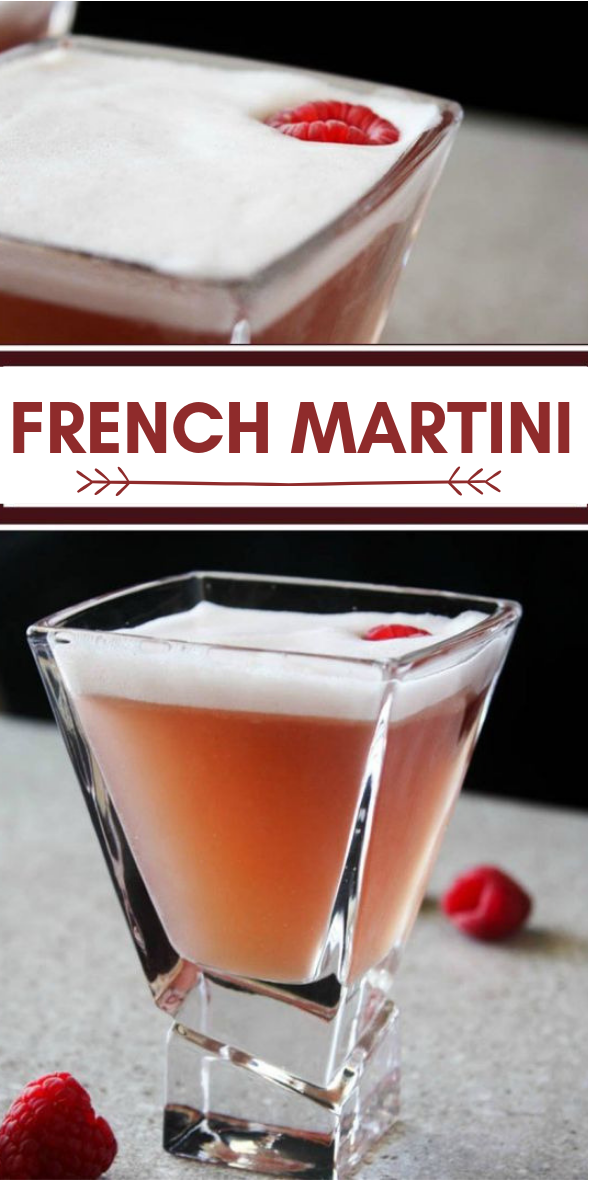 French Martini #drink #french
